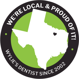 We're local and proud of it badge